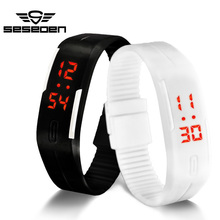 hot deal buy led watch women sport men's watches relogio feminino erkek kol saati simple watches for men kids running bracelet clock