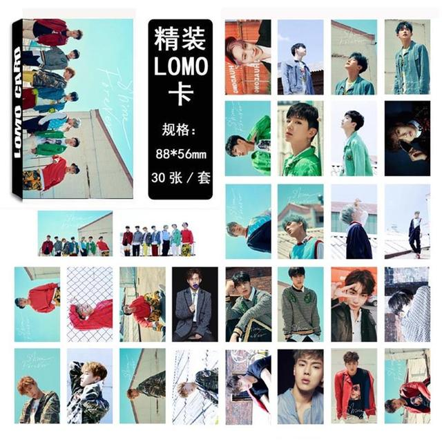 US $2 49 |Kpop MONSTA X Lomo Card Fashion Collective Photocard Paper Photo  cards Poster 30pcs/set-in Jewelry Findings & Components from Jewelry &