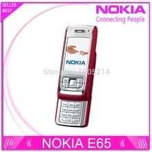 Восстановленное nokia e65 mobile телефон разблокирована оригинальный телефон gsm сотовый телефон quadband 3 г мобильный телефон
