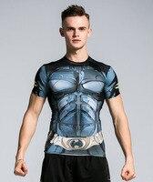 Tshirt Homme High Quality Men S Clothing 3D Print Joker Captain America Black Panther Spider Man