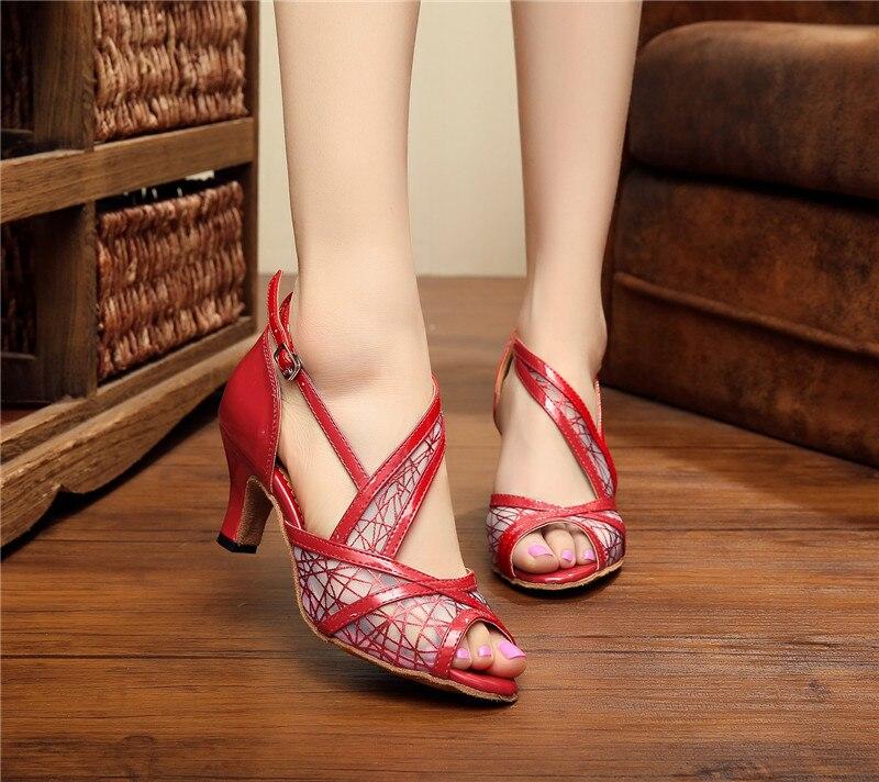New PU Women s Latin dance font b shoes b font font b Salsa b font