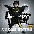 Children's cosplay Halloween costume Boys and girls Batman performance clothing Bat shirt harem pants fashion leisure suits