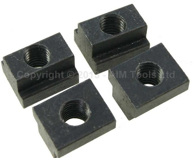 4PCS TEE Nuts Machine Milling Working Table Fixing T Bolts