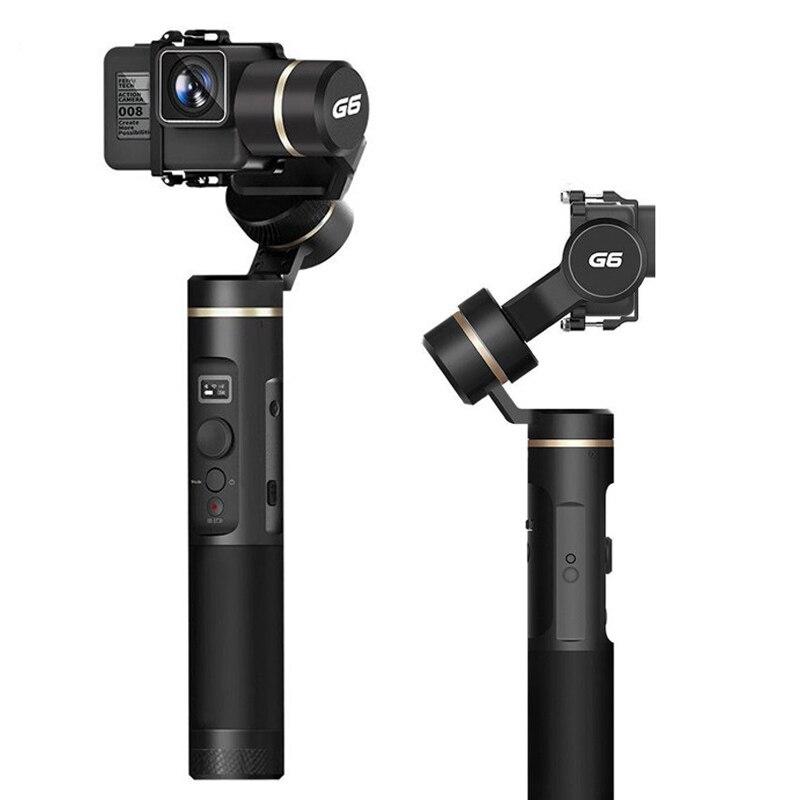 Original tout nouveau Feiyu G6 3 axes cardan portable Feiyu caméra d'action reconnaissance du visage Wifi pour Gopro