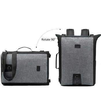 Men Shoulder Bag Male Multi-function Backpacks Leisure Laptop Bag Business Large Lightweight Waterproof Travel Backpack XA183ZC
