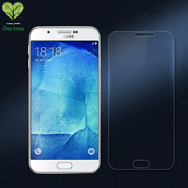 Tempered Glass Film For Samsung Galaxy A8 A800F Screen Protector A800Y Duos