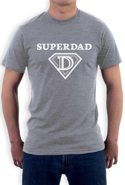 bfbc379b Super Dad Father's Day Gifts - Super Hero Dad Cool T-Shirt Funny Casual  Short Sleeve Shirt Tee