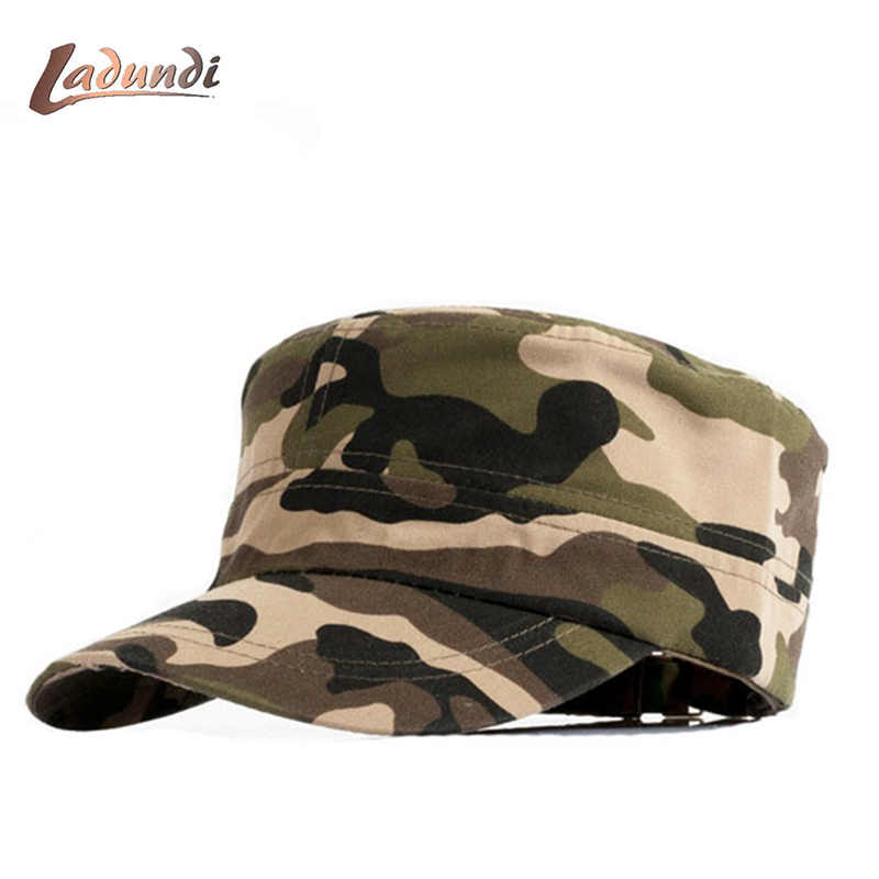 2018 New 5 Panel Camo Baseball caps men army cap women unisex flat hat russia full cap bone militar trucker snapback caps touca