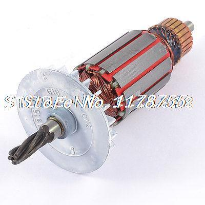 цена на AC 220V Electric Motor Rotor 5 Teeth Drive Shaft for Bosch 24 Impact Drill