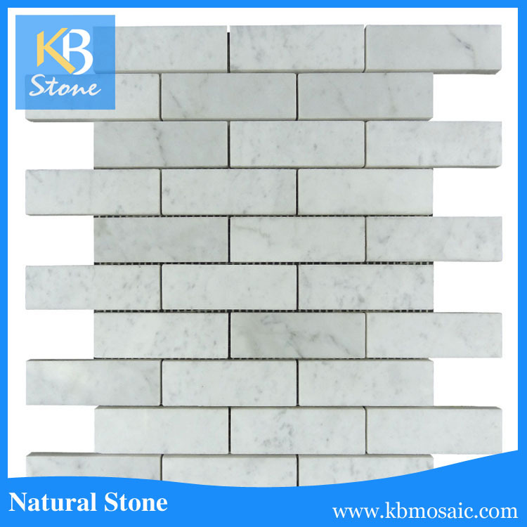 Bianco Carrera Marble Subway Tile