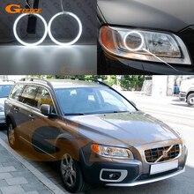 Для Volvo XC70 2008 2009 2010 2011 2012 2013 отличное ультра-яркая подсветка с холодным катодом(CCFL) Ангельские глазки комплект halo кольца