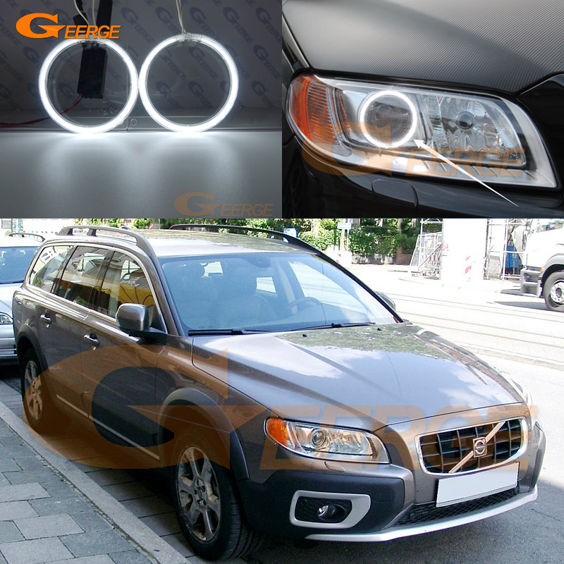 For Volvo XC70 2008 2009 2010 2011 2012 2013 2014 2015 2016 Excellent Ultra bright illumination CCFL Angel Eyes kit halo rings for mazda 3 mazda3 bl sp25 mps 2009 2010 2011 2012 2013 excellent ultra bright illumination ccfl angel eyes kit