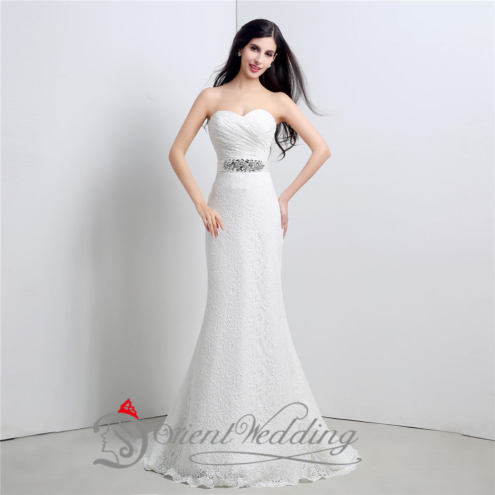 Sexy Sweetheart Fashion Bling Sparkly Lace Up Country Western Style China Mermaid Wedding Dresses Bridal Gowns 2015 In From Weddings