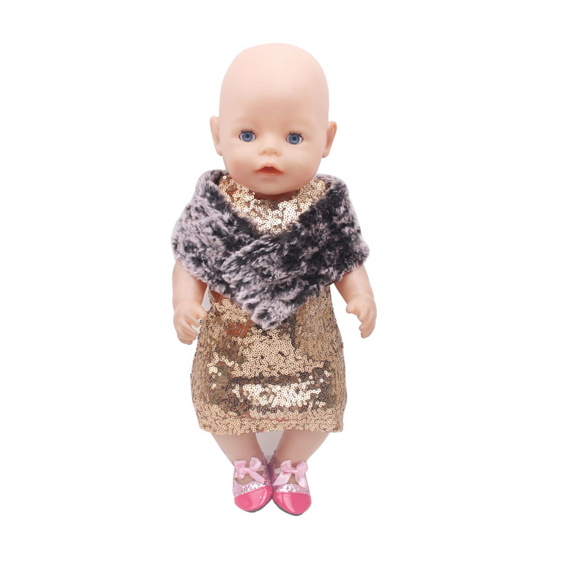 The new 2016doll clothes Wear fit 43cm Baby Born zapf Children best Birthday Gift(only sell clothes) f318