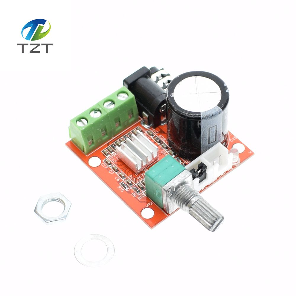 Smart Electronics 1Pcs 2X10W Hi-Fi PAM8610 Audio Stereo Amplifier Board Dual D Class Channel ...