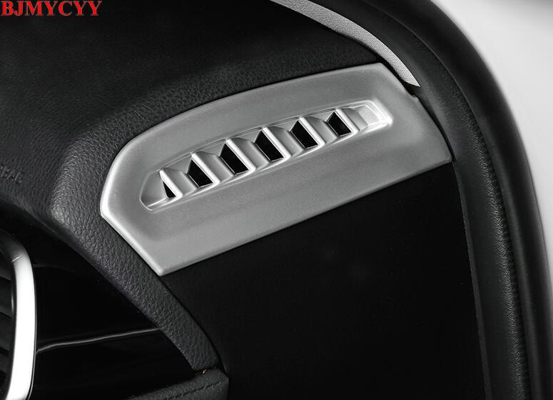 Bjmycyy Автомобильный дизайн ABS приборной панели автомобиля Vent Планки для Toyota Camry 2018 xv70