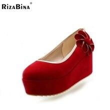 Бесплатная доставка высокий каблук клин женская обувь сексуальное платье модной обуви насосы P11172 EUR размер 30-43