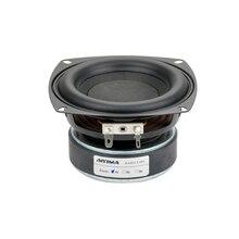 Aiyima 1 pc 4 polegada hi fi 8ohm/4ohm subwoofer alto falante de áudio super baixo woofer alto falante 40 w alto falante de alta potência