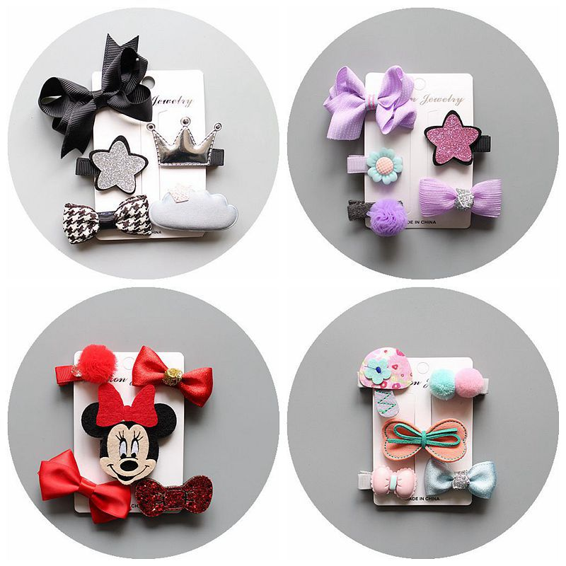 2017 Sets Fine Hairpin Girls Hair Clip Bows Pink/Navy Solid Bowknot Hairpins Grosgrain Ribbon Bows Hair Accessories MT-40 торшер favourite wendel 1602 1f