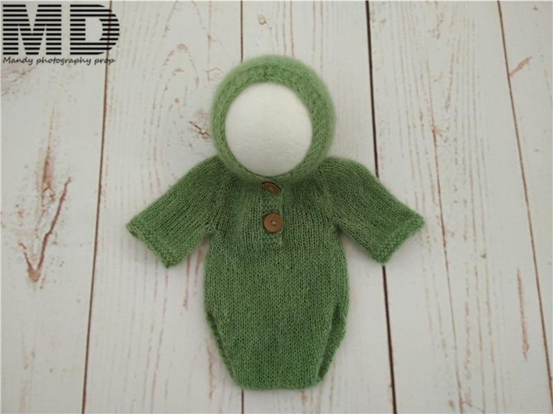 Baby mohair outfits Жаңа туылған Mohair Жалпы Romper - Балаларға арналған киім - фото 2