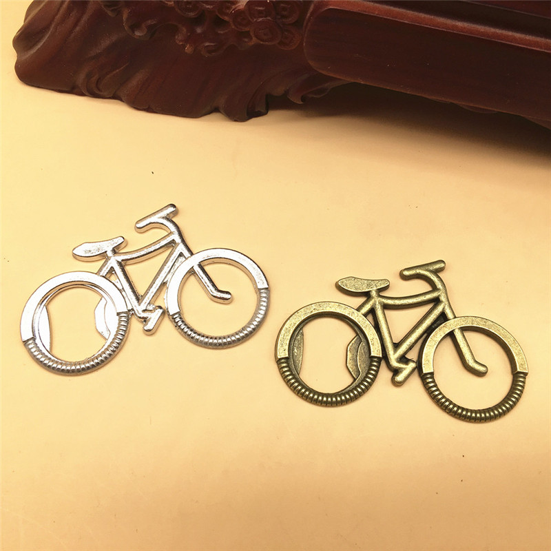 200pcs lot Bicycle Metal Beer Bottle Opener Cute key rings for bike lover Wedding Anniversary Party