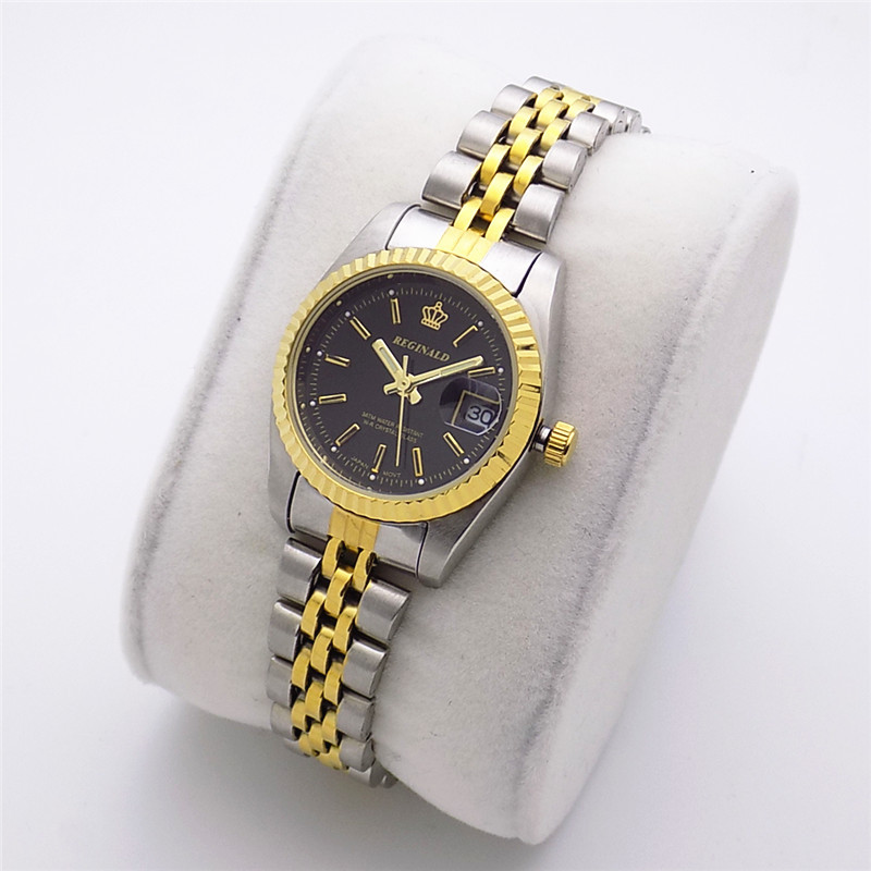 2018 Fashion Reginald Brand Luxury Watch Quartz Man Gold Article High Grade Gift Contracted Scale Between Classic Dress Calendar