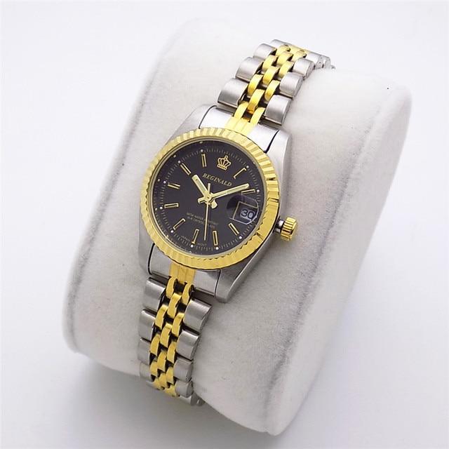2018 Fashion Reginald Brand Luxury Watch Quartz Man Gold Article High Grade Gift