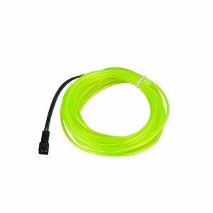 Image 5 - 1m 2m 3m 4m 5m Neon Light EL Wire 3 Modes 10 Colors LED Strip Light with Controller For Car Dance Party Bike Decoration Lighting