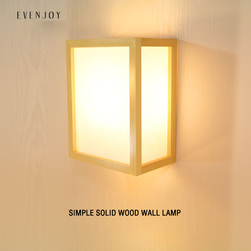 Modern Japanese Tatami Style Square LED Solid Wood Ceiling Lamp with Pinus Sylvestris Lampshade for Balcony Foyer AisleModern Japanese Tatami Style Square LED Solid Wood Ceiling Lamp with Pinus Sylvestris Lampshade for Balcony Foyer Aisle