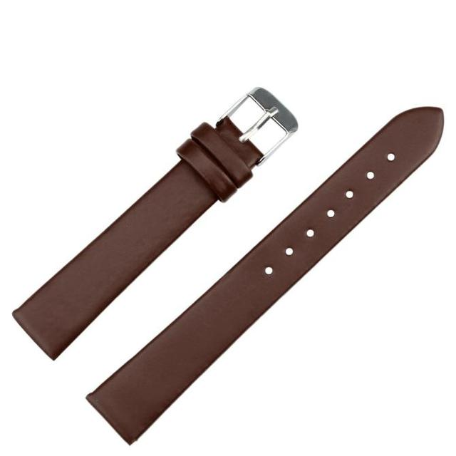 Fashion Women Unisex Simple Fashion 16mm Women Fashion Leather Watch Strap Watch