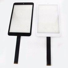 Pantalla táctil sensor de cristal del reemplazo del digitizador para asus memo pad 8 me181c me181cx k011 076c3-0807b negro blanco con logotipo