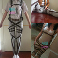Ataque On Titan Cosplay Shingeki No Kyojin Cosplay Recon cuerpo arnés correas Hookshot Cosplay disfraz