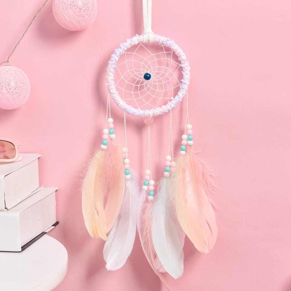 attrape rêve lumineux capteurs de rêves culture amérindienne peuple amérindien décoration intérieur chambre