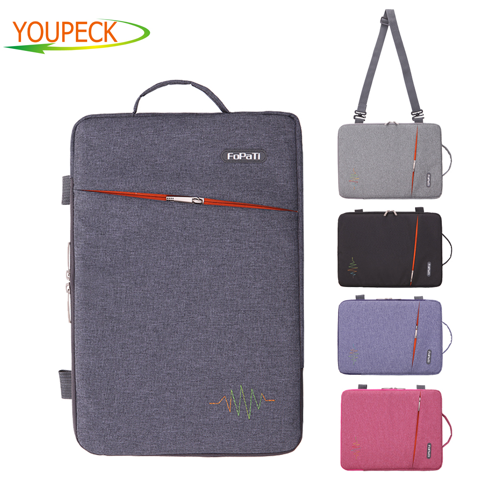 Crossbody Bag 11.6 12 13.3 14 15.6 inch Laptop bag Handbag for Macbook Air 11 13 Pro 13 15 Retina Case Shoulder Messenger bag laptop bag bolsa feminina women messenger bags sac ordinateur 13 14 15 inch handbag leotop shoulder bag for macbook air pro