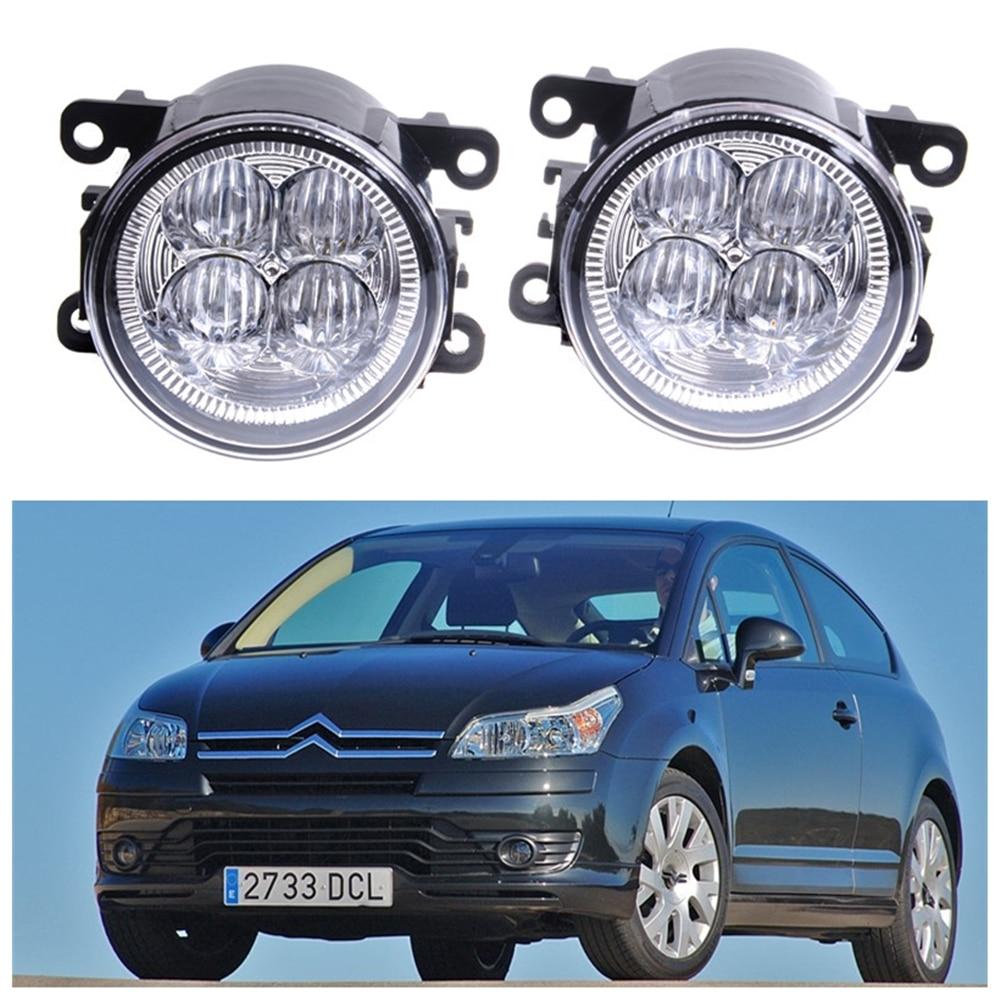 For CITROEN C4 Grand Picasso UA_ MPV  2006-2015 10W High power Lens fog lights Car styling Fog Lights 1set коврик в багажник citroen grand c4 picasso 09 2006