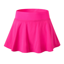 Women Exercise Shorts Fitness Bodybuilding Skirt Breathable Quick-Drying Ladies Sporting Anti-Emptied High Waist Skirt Shorts