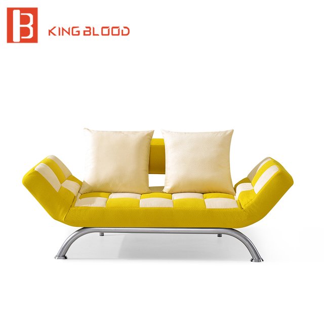 metal frame sofa bed red faux leather corner reclining cum designs prices in living