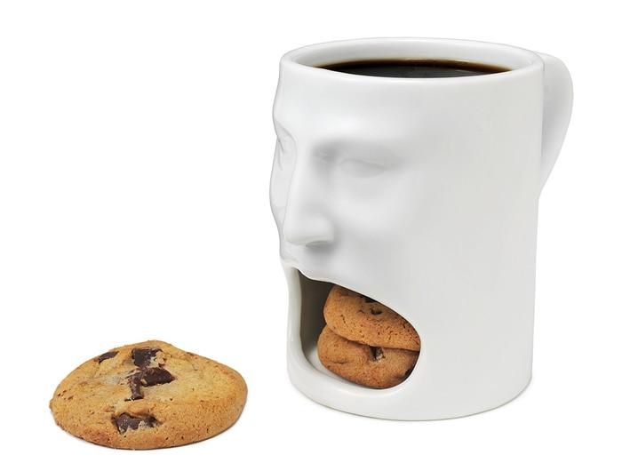 Coffee Mug With Cookie Pocket 9