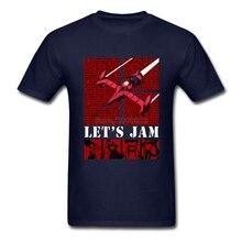 Best Design T-shirts Men Man's Short Sleeve O Neck Anime Cartoon Cowboy Bebop Teenage Tops Tee Men T-shirt