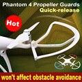 1set Phantom 4 Quick-release Propeller Guards Protectors Shielding Rings Bumpers for DJI Phantom 4 PRO + V2.0 Fortress Design
