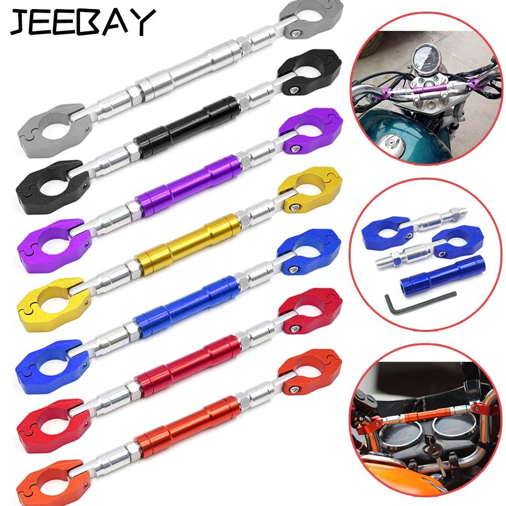 JEEBAY 22mm Adjustable Motorcycle Handlebar Cross Bar 7/8 Guidon Moto Universel Modified Handle Accessories