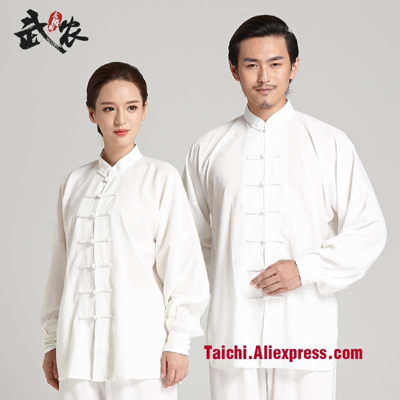 Martial Art Tai Chi Uniform  Long - Sleeved   Men And Women  Performance  Clothing