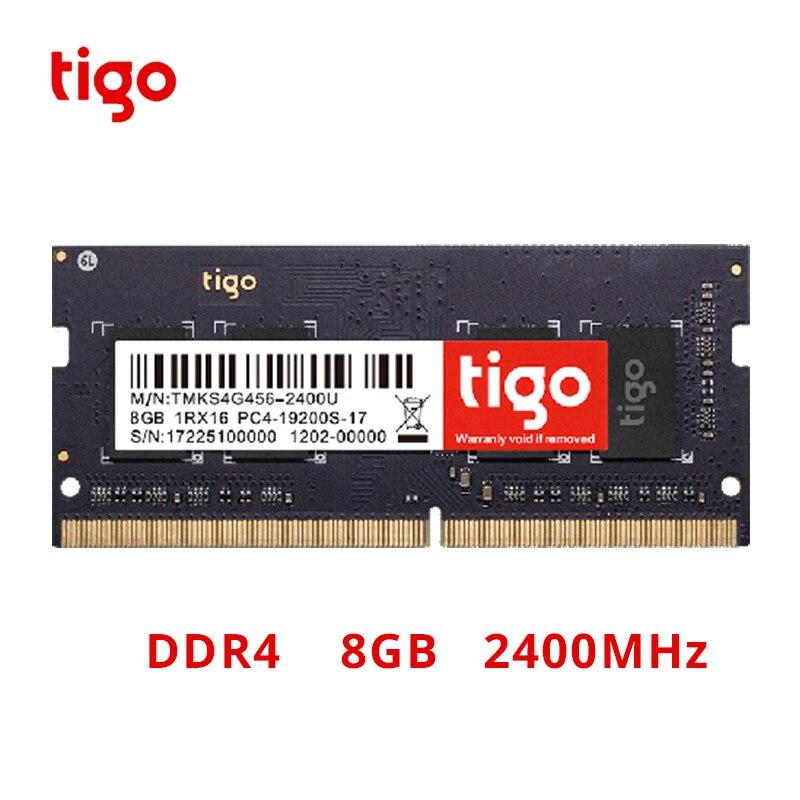 Memória 8 gb ddr 4 memoria sodimm do computador portátil 2400 mhz de tigo ram ddr4 8 gb para o portátil