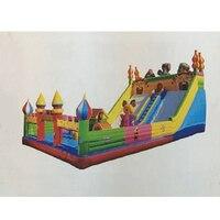 Праздник мультфильм надувные Fun City для детей, Надувное оборудование для развлечений распродажа