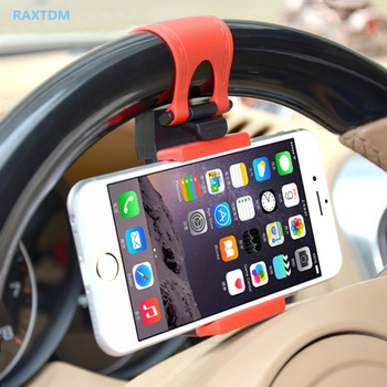 GPS Car Steering Wheel Mobile Phone Holder Bracket Stand for KIA Rio K2 K3 K4 K5 KX3 KX5 Cerato,Soul,Forte,Sportage R,Sorento image