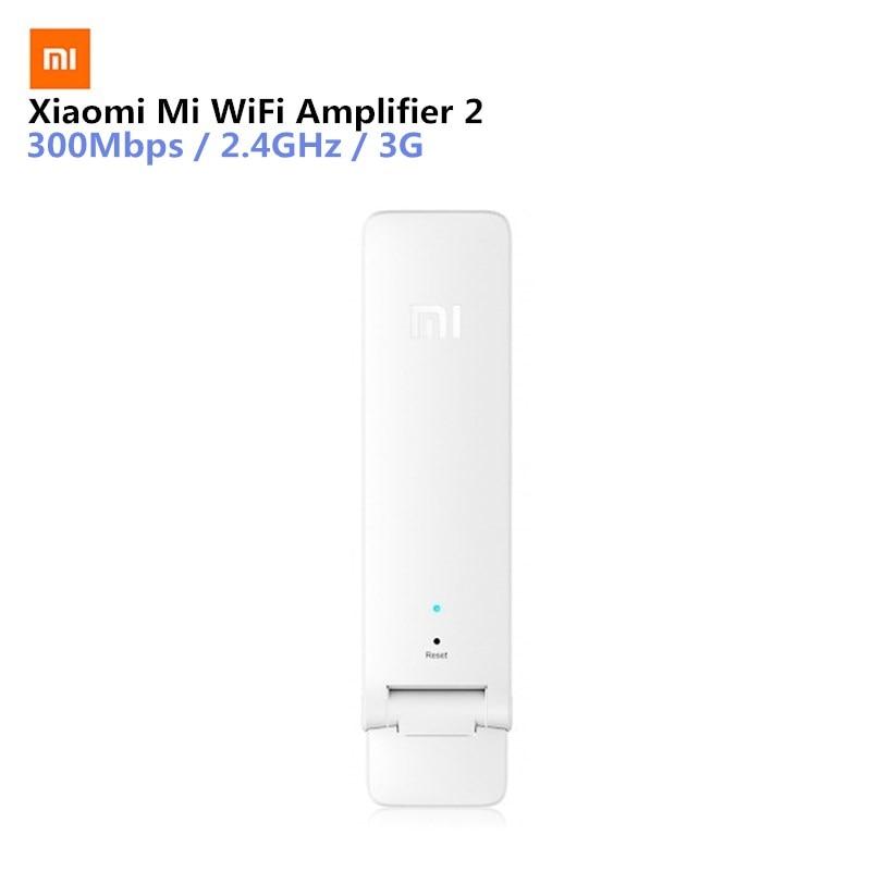 Original English Version Xiaomi Mi WiFi Repeater 300M Amplifier 2 Expander Portable Light Weight Wifi Extender for Mi Router original xiaomi r01 mi wifi amplifier chinese version