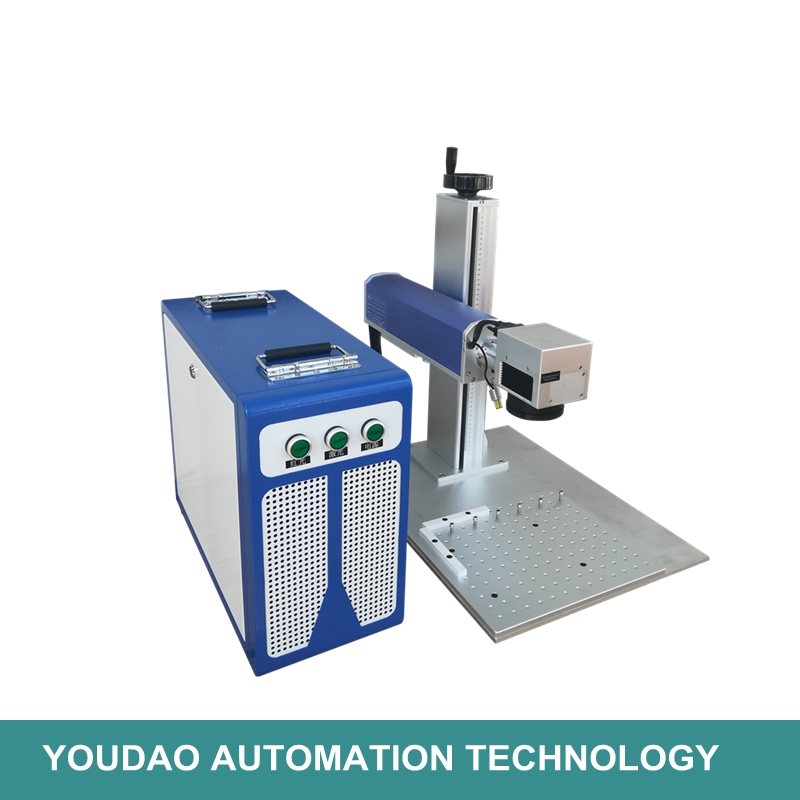 Machine de marquage laser à fiber de fer à bas prix 30 W raycus