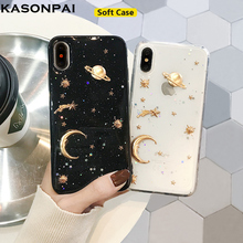 7b8d7839c03 Glitter Bling Starry Sky Phone Case For iPhone XS Max Cases For iPhone 7 XS  XR
