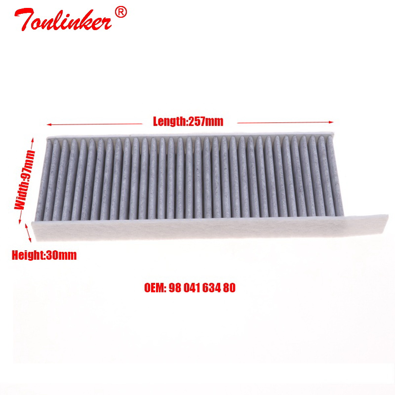 Image 2 - Cabin Filter 2Pcs For Peugeot 308 II 1.2THP 1.6 HDI 2.0 Model 2013 2014 2015 2016 2017 2018 2019 Car Carbon Filter Accessories-in Cabin Filter from Automobiles & Motorcycles