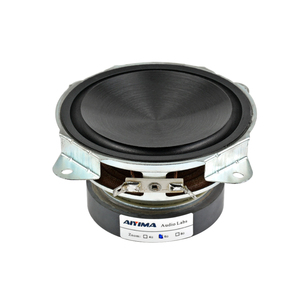 Image 1 - AIYIMA 30W 4Inch 1Pc Column Woofer Speaker Subwoofer 6Ohm Bass Audio Speaker DIY Home Theater Music Center Altavoz Portatil